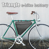 Triangle Electric Bike Battery 36v Lithium Ion 1000W 2000W Battery Bag 36V Bafang Battery For 8FUN