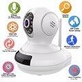 HD 720 P Sem Fio Wifi IP Câmera de Segurança Baby Monitor Pan/Tilt Night Vision Two-Way Áudio com Monitor de Vídeo Vigilância remota