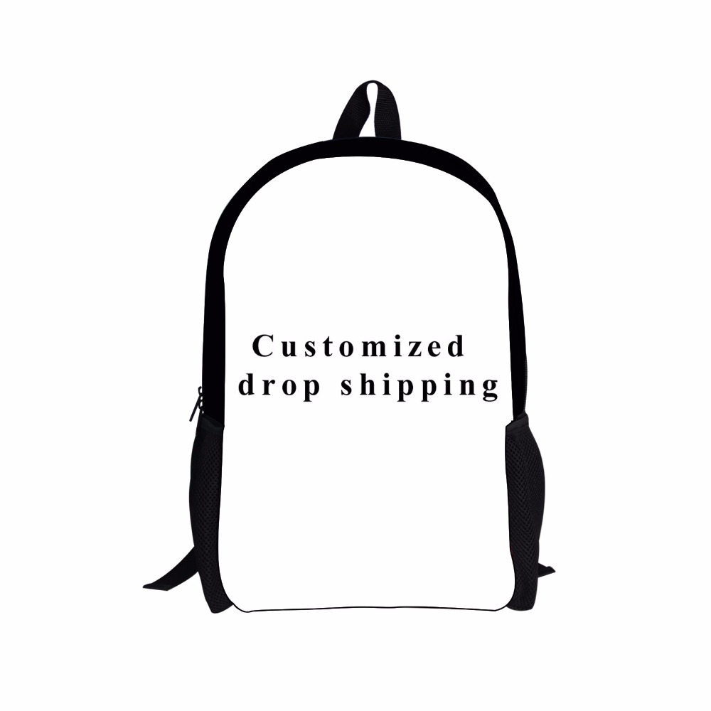 FORUDESIGNS Customized Cool Printing Backpack for Children