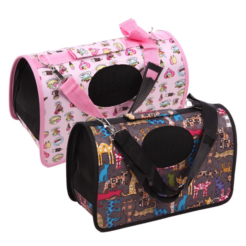 Portable Soft Pet Dog Cat Carrier Comfort Travel Tote Shoulder Bag Crate Cage House Kennel Pet Cage Travel Bag