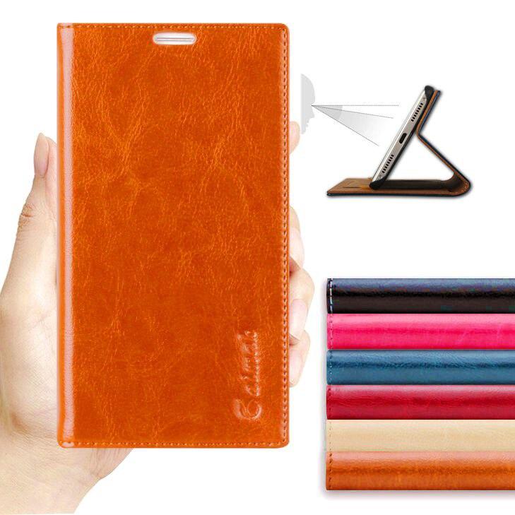 D'origine aimak de luxe véritable en cuir téléphone case pour huawei honor x1/x2 mediapad x1/x2 flip portefeuille mobile téléphone sac