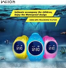 2018 GPS Tracker Watch for Kids Safe GPS Watch waterproof Q520S smart Wristwatch SOS Call Finder