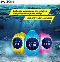 Gps 트래커 시계 어린이 시계 방수 gps lbs 스마트 시계 sos 전화 찾기 로케이터 추적기 어린이 시계 2g sim q520s