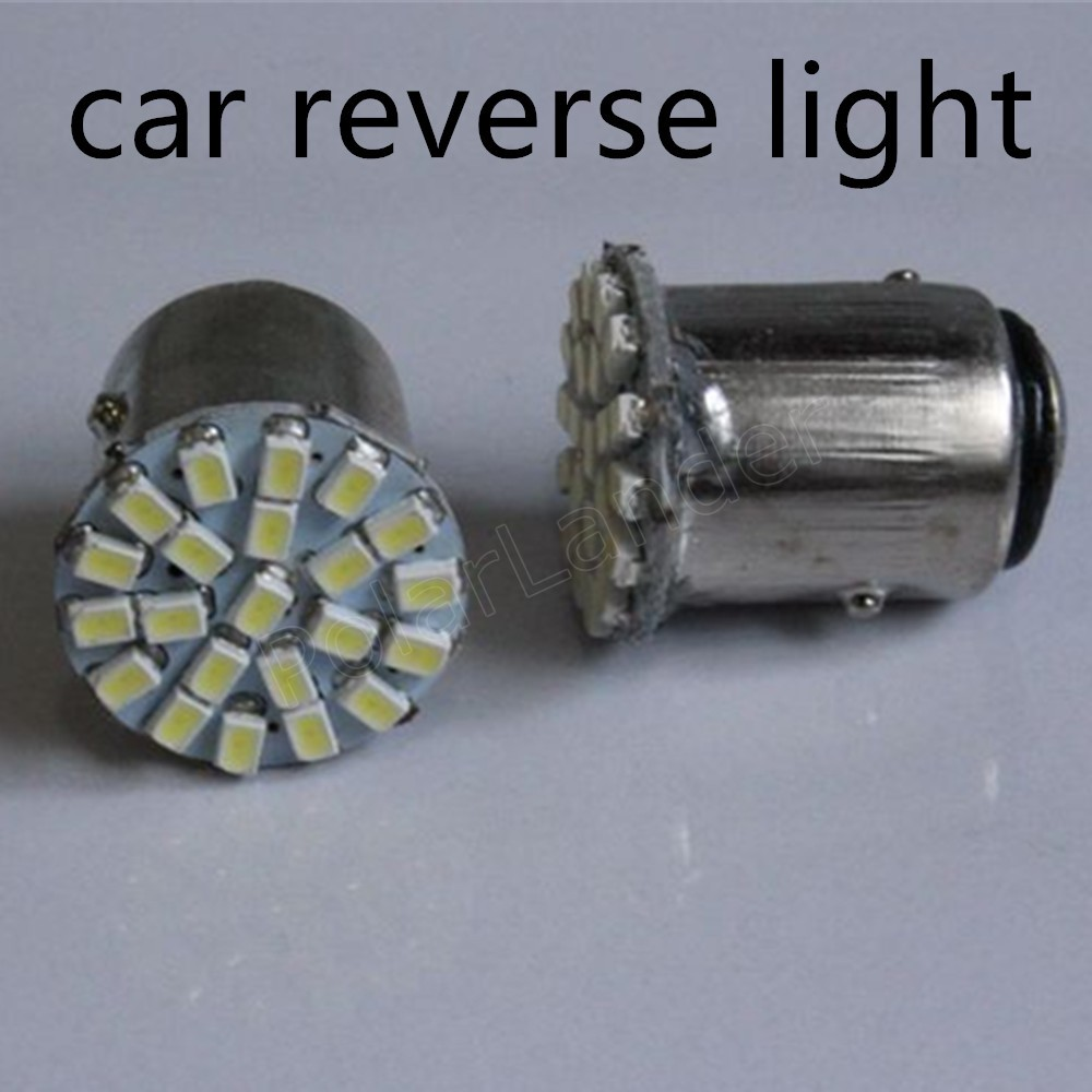 10 pieces 1.5W Car Led Lamp BAY15D 22led 22SMD DC 12V Brake Light Turn Signal Reverse Light best price sale