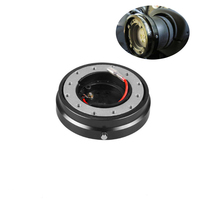 1 Set Quick Release Removable Car Steering Wheel Hub Boss Adapter Kit Universal for All Car