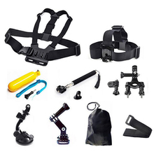 9-in-1 Sports Action Camera Accessories Kits for Gopro Hero 6 4 3 2 Action Sport Camera