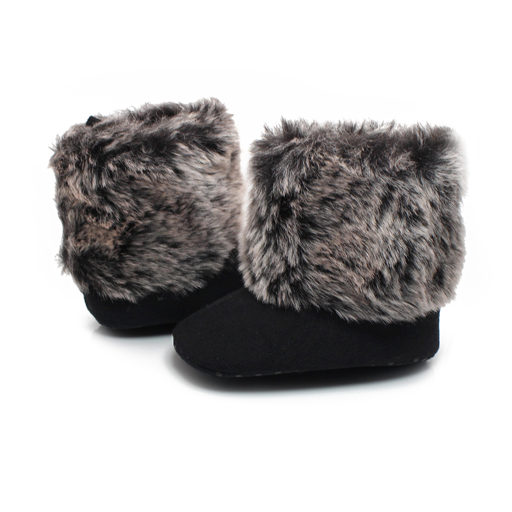 Aliexpress.com : Buy Baby Girl Boots For 0 2 Years Old Down Flat ...