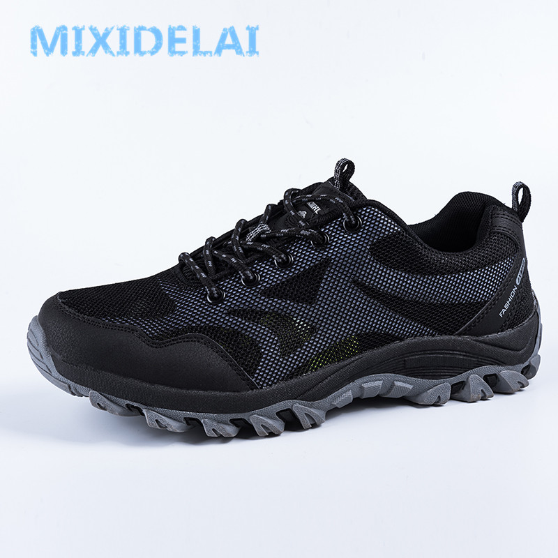 MIXIDELAI Summer Sneakers Breathable Men Casual Shoes Fashion Men Shoes Tenis Masculino Adulto Sapato Masculino Men Leisure Shoe