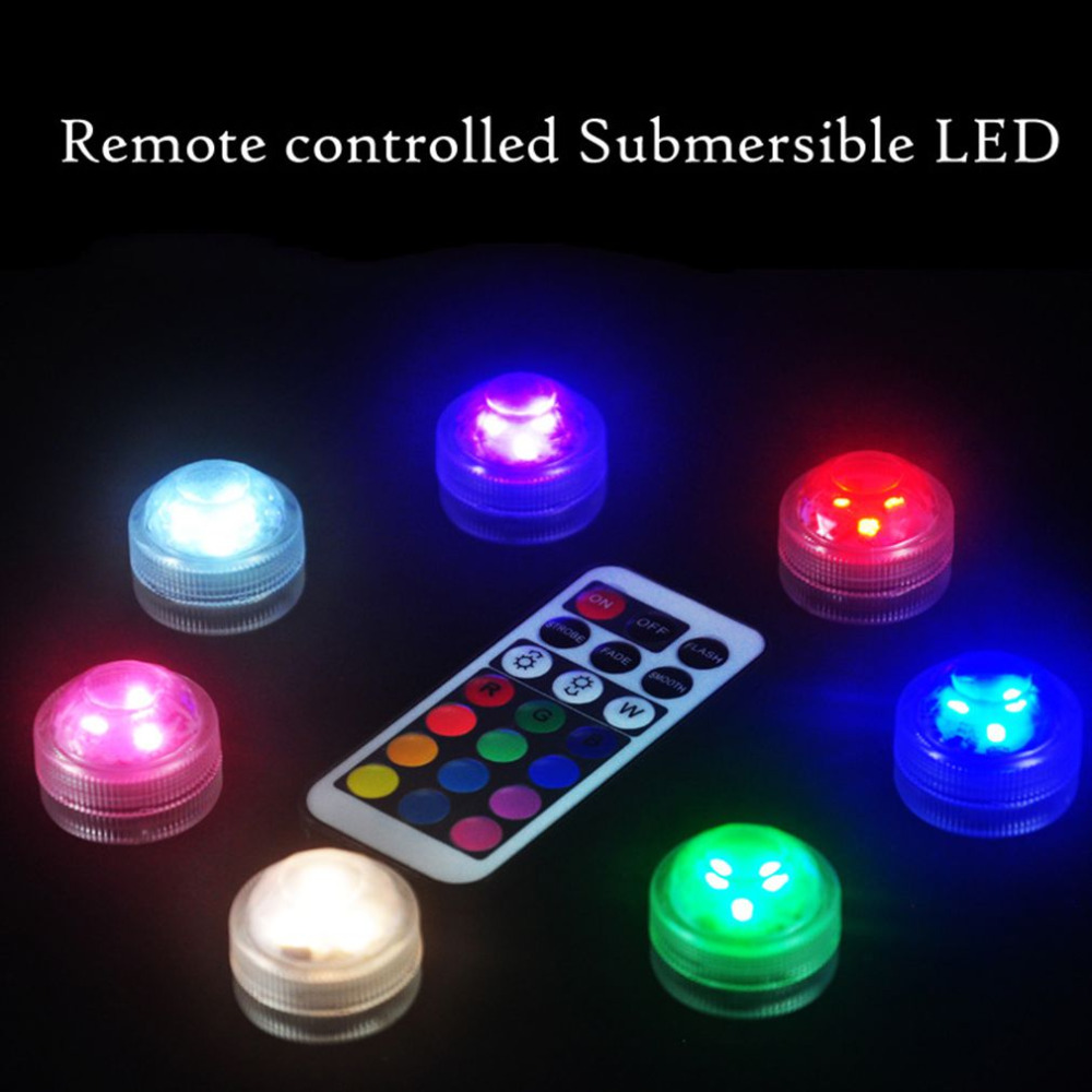 Aquarium Controller 10 Steps With Pictures: 10pcs/set LED Aquarium Diving Light With Remote Control
