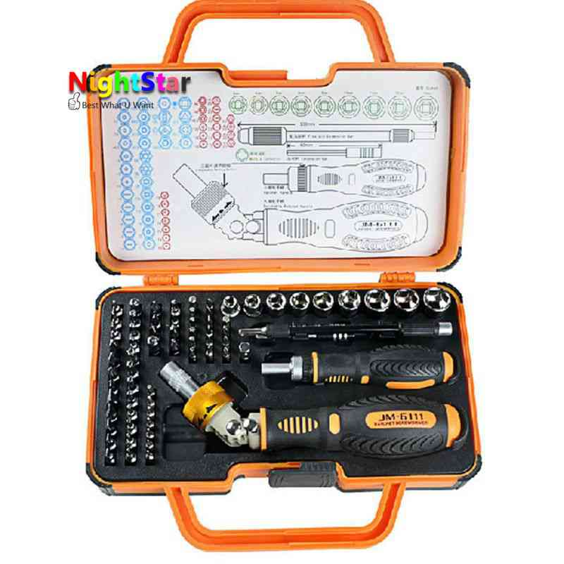 69 in1 Multipurpose Precision Screwdriver Set Hardware Tool Ratchet Effort For Household tools jakemy 73 in 1 multi tool household ratchet screwdriver set for mobile phone repair tool laptop computer electronics tools