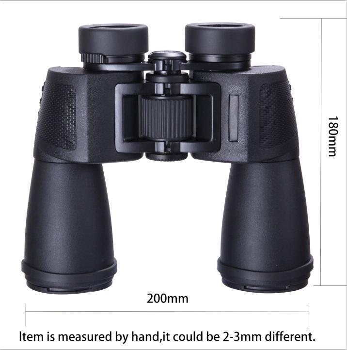 SCOKC HD10x50 Binoculares de caza profesionales Óptica BAK4 de alta - Camping y senderismo