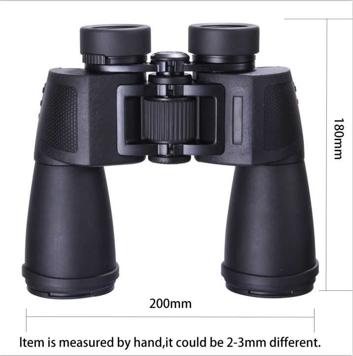 SHOKC HD10x50 Professional Hunting Binoculars High Quality Optics BAK4 Telescope 384ft Wide Angle Zoom no Infrared eyepiece sika hd10x50 binoculars professional compact telescope bak4 for birdwatching travel stargazing hunting camping m0054