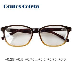 Image 1 - Óculos de leitura masculinos grandes, antirreflexivos, 0 + 0.25 + 0.5 + 0.75 + 1 + 1.25 + + 1.5 + 1.75 + 2 + 2.5 + 2.25 + 2.75 + 3.5 + 3 + 3.25 + 3.75