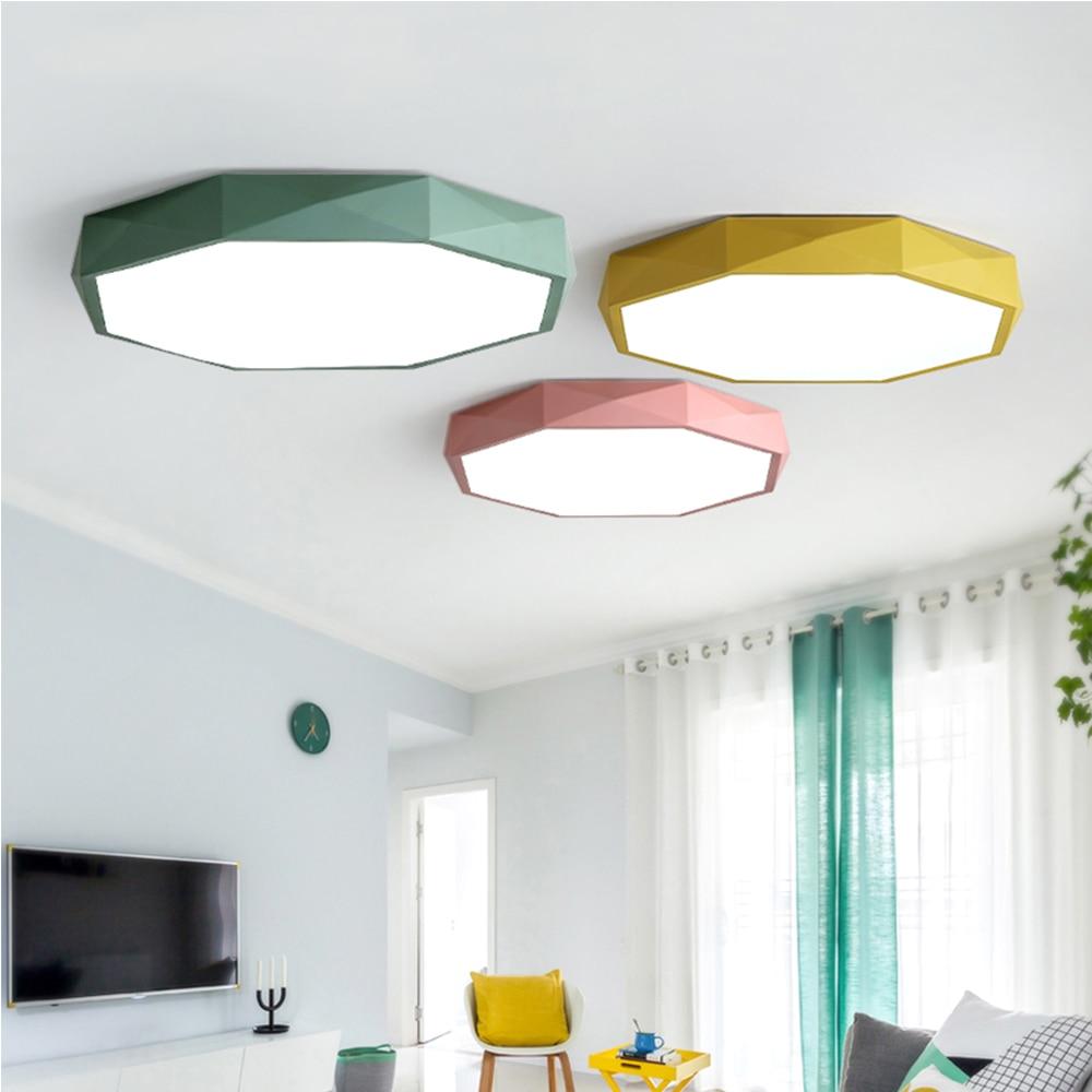 Nordic living room led ceiling light modern ceiling light bedroom lamp flush mount ceiling light rigid industries 93432 srq2 amber driving led light flush mount