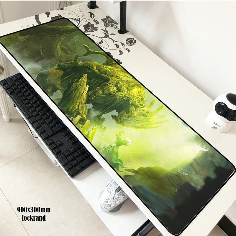 Guild Wars 2 Mouse Pad 900x300mm Pad To Mouse Long Notbook Computer Mousepad Gorgeous Gaming Padmouse Gamer Keyboard Mouse Mats