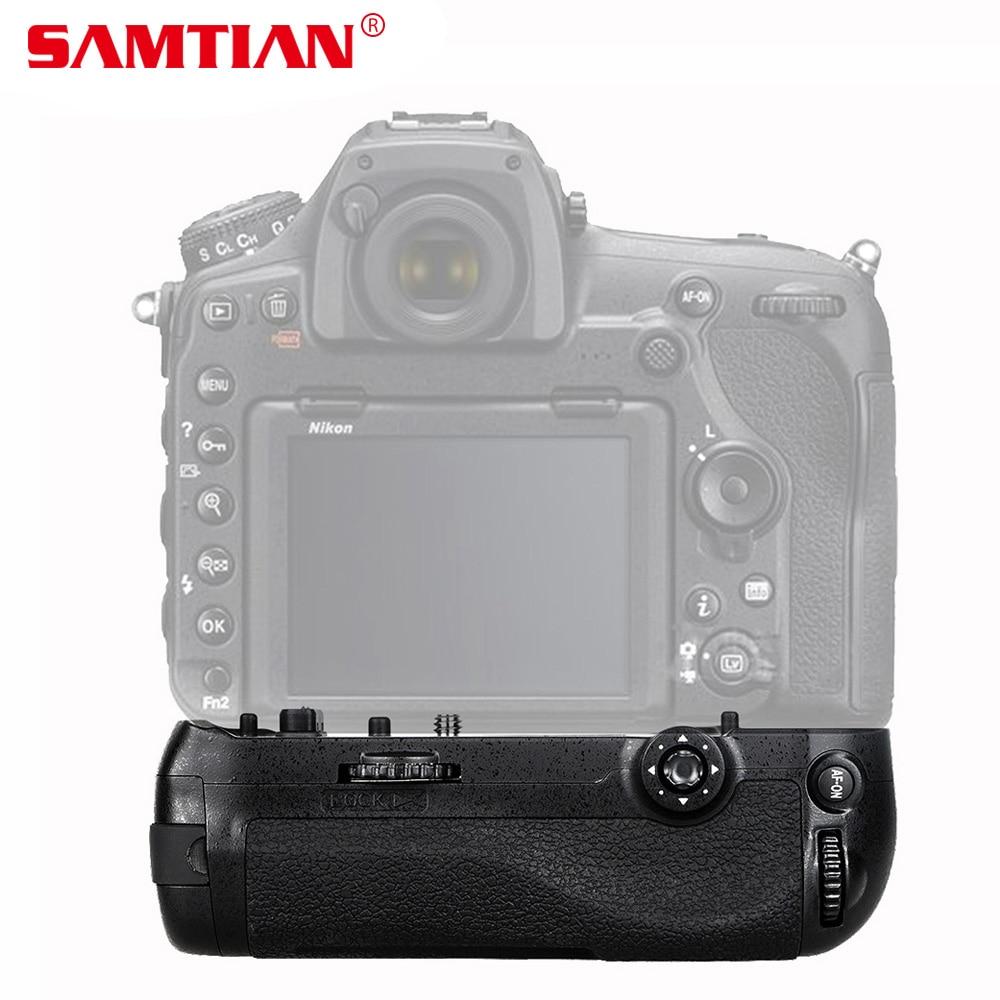 SAMTIAN Professional Vertical Battery Grip for NIKON D850 DSLR Camera Work with EN-EL15/ EN-EL15a as MB-D18 meike mk d500 professional vertical battery grip with en el15 battery for nikon d500 as mb d17