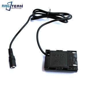 Image 4 - DR E6 DC Accoppiatore Connettore LP E6 dummy fit batteria di potere del caricabatteria Esterno per Canon EOS 5D Mark II III EOS 5D2 5D3 6D 7D 60D 5D2