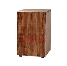 Afanti Music Acacia Wood Birch Wood Natural Cajon Drum KHG 217