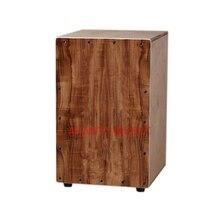 Afanti Music Acacia Wood / Birch Wood / Natural Cajon Drum (KHG-217)
