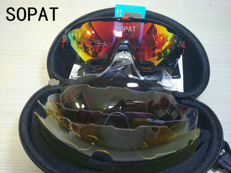 HTB1T JqQXXXXXXbXXXXq6xXFXXXB - 2018 4 Lens Mountain Velo Goggles Polarized Jaw Breaker Sunglasses Men Women MTB sopat Eyewear JBR Sun Glasses with Myopia Frame