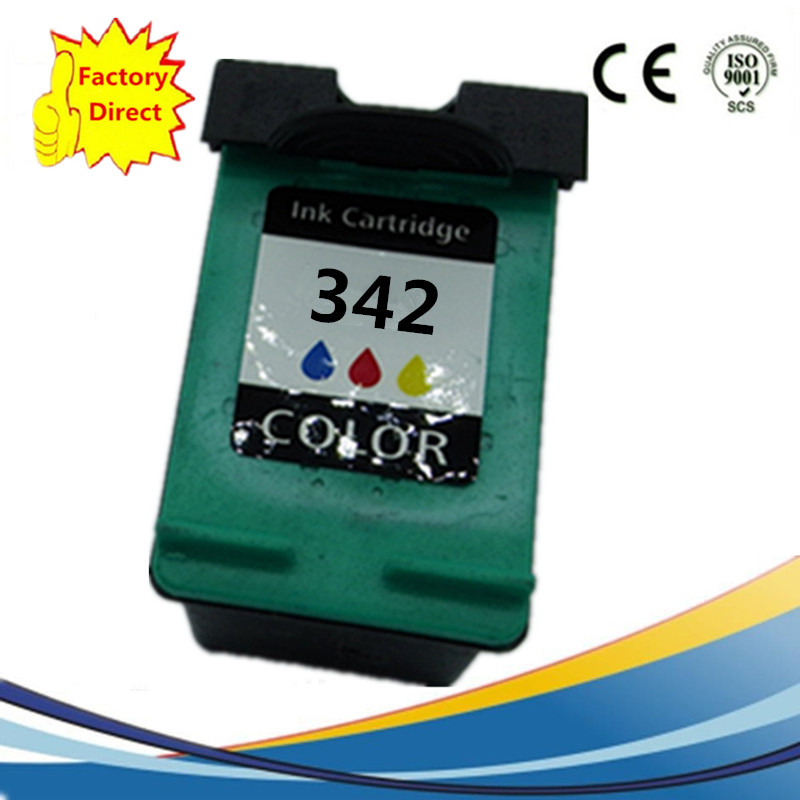 <font><b>Ink</b></font> Cartridges Remanufactured For HP342XL Photosmart 7838V 7838XI 7850 7850V 7850XI <font><b>C3100</b></font> C3110 C3125 C3135 C3140 C3150 image