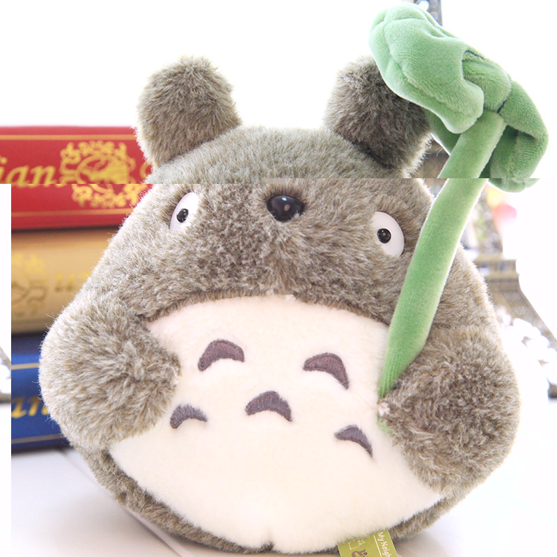 45 cm nouveauté cadeau d'anniversaire mignon dessin animé chat véritable Miyazaki pour fille ami enfants peluche Animal Totoro poupée jouets en peluche