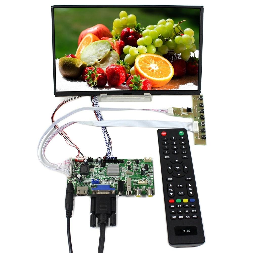 HDMI+VGA+2AV+USB+Audio LCD Controller Board With 10.1inch 1366X768 B101XAN01.3 IPS LCD Screen vga hdmi lcd controller board for lp156whu tpb1 lp156whu tpa1 lp156whu tpbh lp156whu tpd1 15 6 inch edp 30 pins 1 lane 1366x768