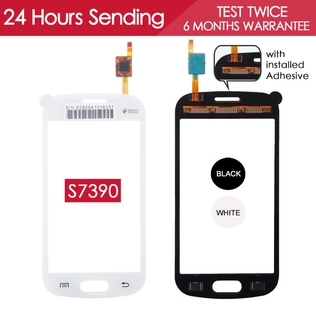 Tested 4.0 inch Touchscreen For Samsung Galaxy Trend Lite S7390 S7392 GT-S7390 Touch Screen Digitizer Glass Panel Replacement