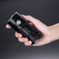 Распродажа! NITECORE 4000Lm TM06S CREE XM L2 U3 светодио дный фонарик Водонепроницаемый без 18650 Факел открытый поиск Кемпинг Бесплатная доставка