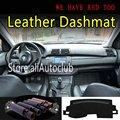 Для BMW X5 E53 2000 2001 2002 2003 2004 2005 2006 кожа приборной коврик на приборную панель тире Зонт ковер кастом аксессуары