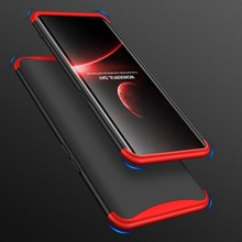 For OPPO Find X Case 360 Degree Full Body Cover Case For OPPO FindX Hybrid Shockproof Case With Tempered Glass for OPPO Find X 360 full protection case for oppo find x case luxury hard pc shockproof back cover case for oppo find x cases