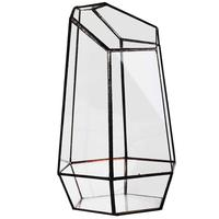 Casa estufa vaso de vidro hexagonal para taxa jardim miniatura mini paisagem|Vasos e agricultores|Casa e Jardim -