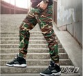 2016 Men's Fashion2016 Camouflage Joggers Pants Hip Hop Trousers Military Haram Pants Boys Pantalones Kanye West Pants