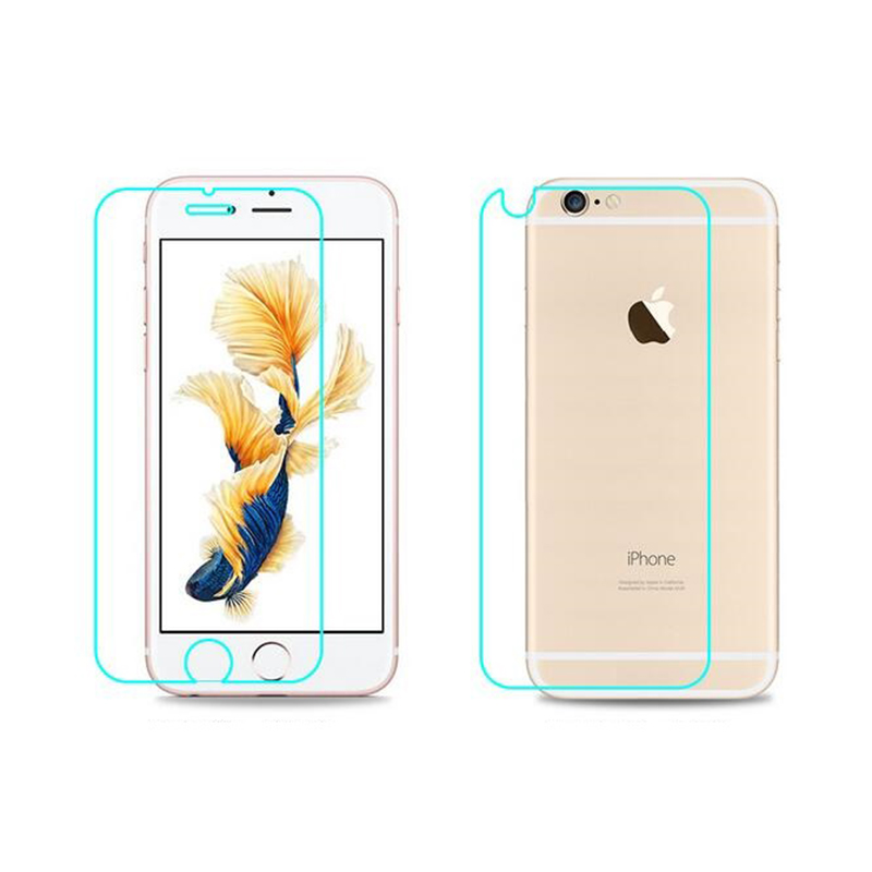 Front Back 9H 0.3mm Tempered Glass For iPhone 6 6s Plus 5.5 5 5s 5 se Screen Pro
