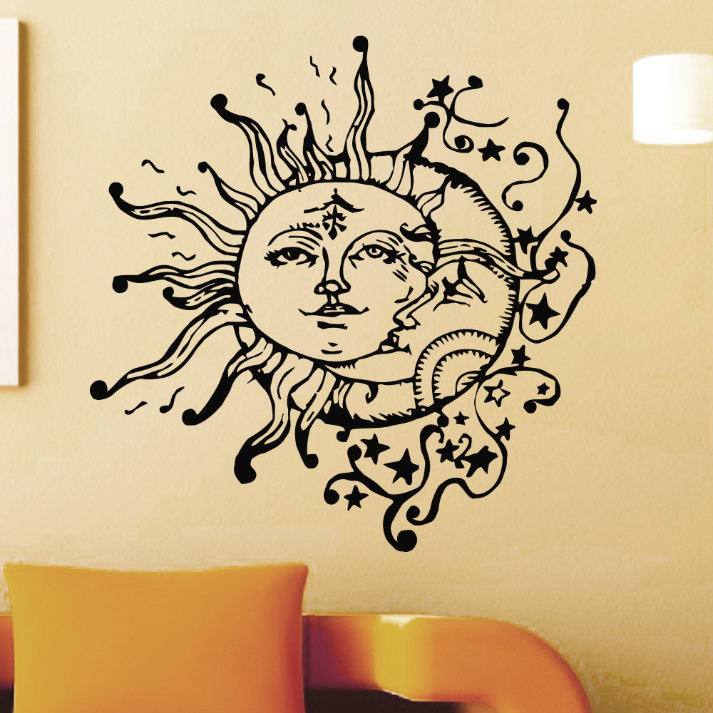Creative Special Wall Decals Home Livingroom Cool Unique Decor Vinyl ...