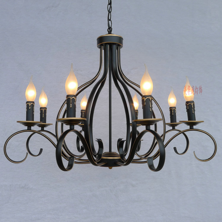Clearance Sale Pastoral European Minimalist Chandelier Lighting Lamps Bedroom Living Room Lights Restaurant LightsChina