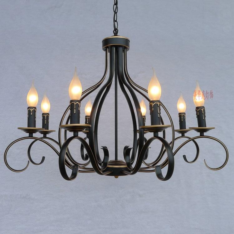 Clearance sale pastoral European minimalist chandelier lighting lamps bedroom living room lights restaurant lights