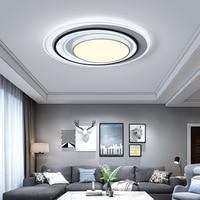 Moderne LED Kronleuchter Für Wohnzimmer Decke Leuchte Schwarz Weiß Lampe Mit Fernbedienung Schlafzimmer Neue Beleuchtung Glanz Lampadari-in Kronleuchter aus Licht & Beleuchtung bei