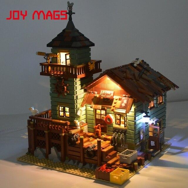 lego lighting. JOY MAGS Led Light Kit (Only Set) For Old Fishing Store Block Compatible Lego Lighting E