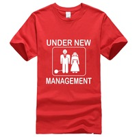 Gildan Create Shirts Men S Under New Management Funny Groom Wedding Bachelor Party Short Top O