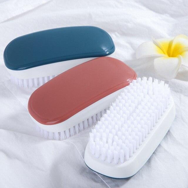 FOURETAW 1 sztuka niebieski różowy użytku domowego typu miękkie futro szczotka do czyszczenia butów wygodna szklana podłoga grill toaleta ubrania szczotka do czyszczenia