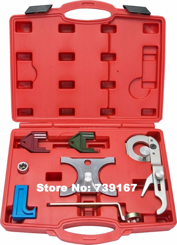 Auto Engine Timing Belt Camshaft Locking Alignment Repair Garage Tools Kit For Saab Vauxhall Opel V6 2.5L/2.6L/3.0L/3.2L ST0235 hot selling universal diesel engine timing belt locking tool set for opel for vauxhall auto repair tools