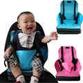 Cadeira de bebe kids chair for feeding baby high chair Dining with safety harness unfolding baby seat cushion chair mat Portable