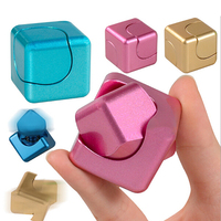 High Quality Finger Hand Spinner Metal Fidget Cube Model Alloy Gyro Autism And ADHD Anti Stress