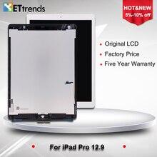 2 PCS/LOT 100% D'origine LCD et Digitizer Assemblée pour iPad Pro 12.9 LCD Écran Blanc/Noir Expédition Libre de DHL