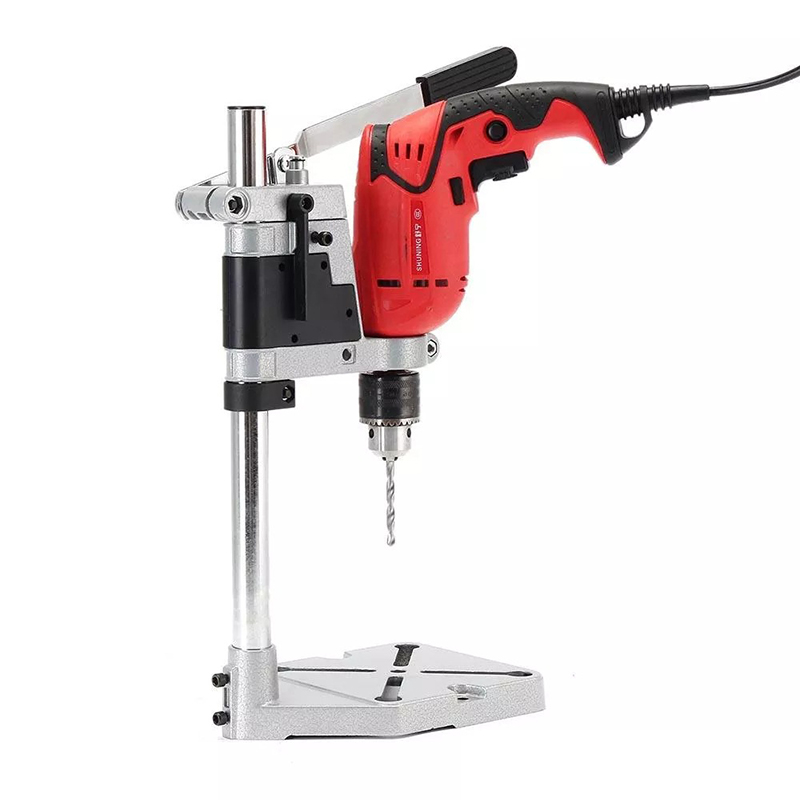 Electric Drill Holder 400mm Drilling Stand Grinder Rack Stand Clamp Bench Press Stand For Holding Electric Drill DIY Woodwork