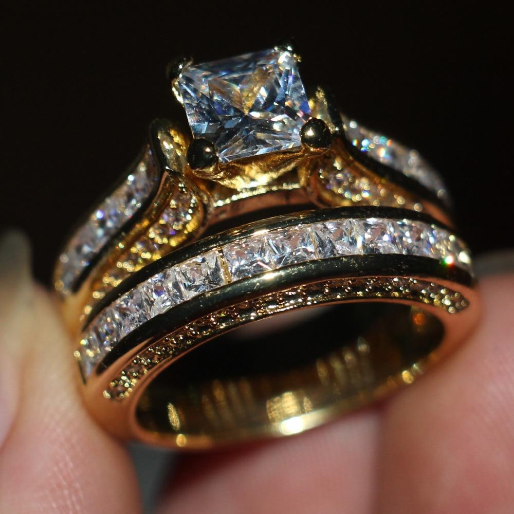 sterling silver wedding band sets promotion-shop for promotional