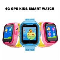 4G مشاهدة الهواتف الذكية للأطفال الطفل ip67 للماء GPS WIFI المواقع مع صوت دردشة كاميرا SOS مكافحة خسر