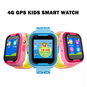 4G Smart phone Watch for Kids Baby ip67 Waterproof GPS WIFI Positioning With Voice Chat Camera SOS Anti-lost
