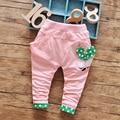 2016 calças bebê recém-nascido meninas calças de algodão menino de coelho bonito da menina da criança Leggings menino Harem Pants